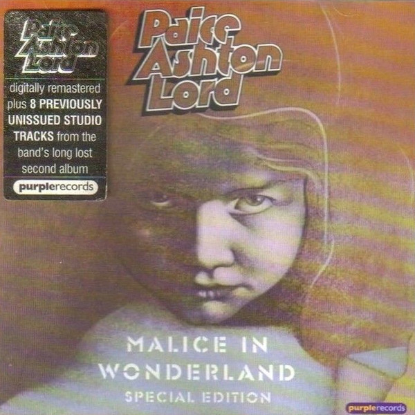 Paice, Ashton, Lord ‎_ Malice In Wonderland (1976) Remastered, Special Edition (2001)